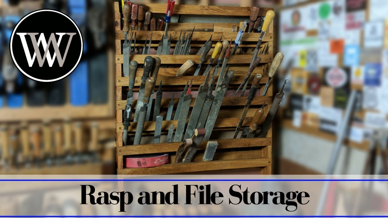 File And Rasp Storage Rack French Cleat Hand Tool