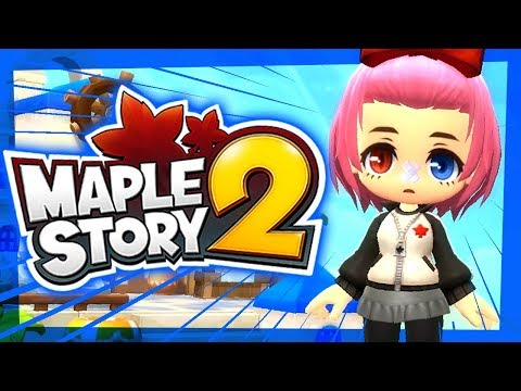 Maple Story 2 - First 30 Minutes!