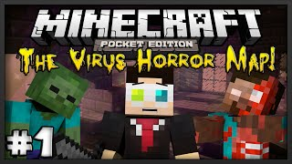 [0.9.5] Minecraft Pocket Edition: The Virus! - Adventure Map - Ep.1 - Infected Hospital