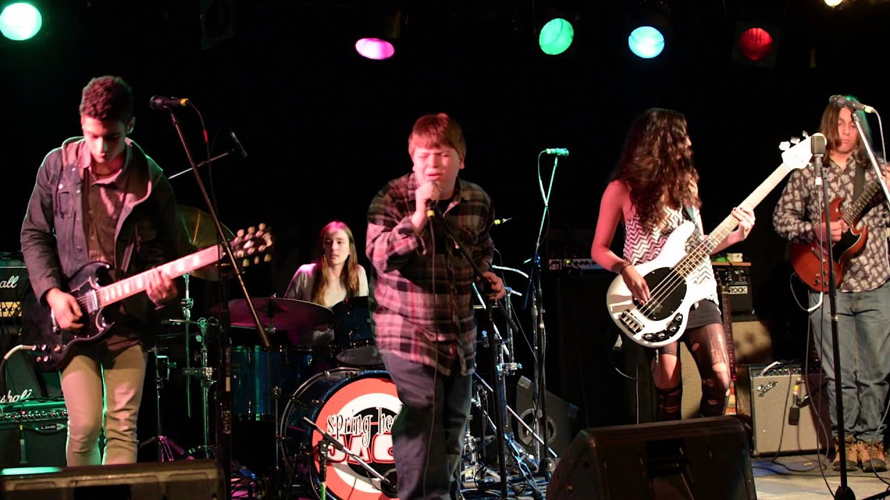 School of rock fairfield house band black betty youtube for House music bands