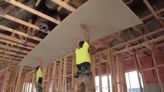 Sheetrock® ceiling and wallboard