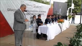 Discurso Juan Miguel Arias Soto en graduación del ISSPE