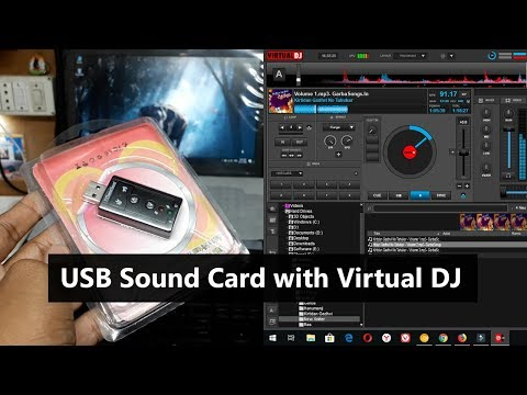 How To Use USB Sound Card With Virtual DJ 🔥 🔥