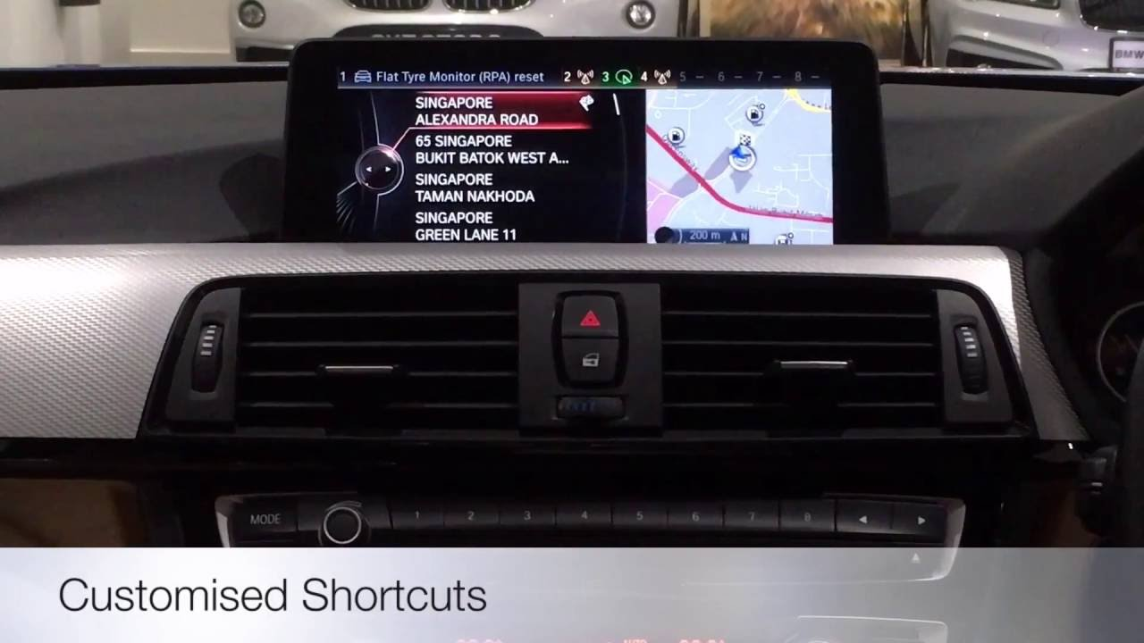 Navigation System Professional Bmw Feature Youtube