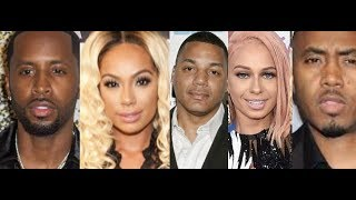 Erica Mena Safaree Reportedly Having Issues, MariahLynn defends Rich Dollaz, Nas and Kanye West