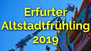 Erfurter Altstadtfrühling 2019- MAGIC schwindelerregend- GEISTERHÖHLE schrecklich- ECLIPSE angstfrei