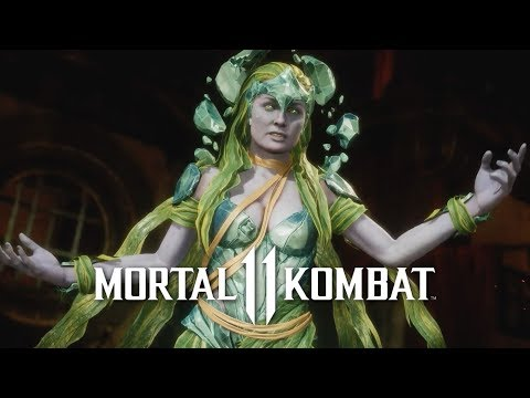 Mortal Kombat 11 - Official Cetrion Reveal Trailer thumbnail