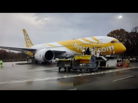 Scoot B787 Dreamliner - Berlin to Singapore