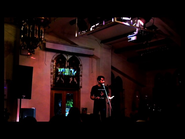 Rhyming all the Timing (recorded at Blu Jaz Cafe poetry slam) - Neil Basu