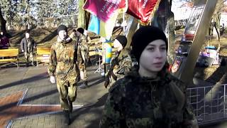 реальные ребята15 02 16 НКН Тараща день вывода войск с Афганистана.
