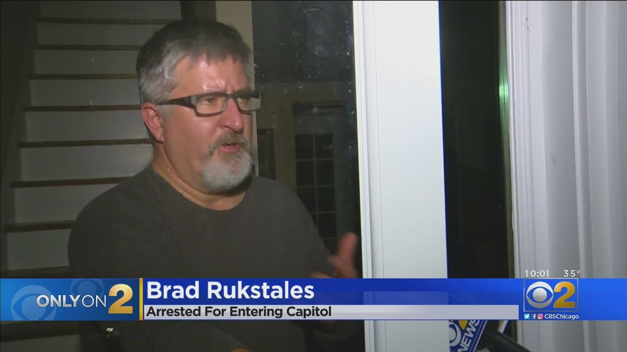 Brad Rukstales Of Inverness, Arrested At U.S. Capitol Riot ...