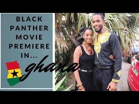 Black Panther Movie Premiere in Ghana