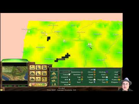 Railroad Tycoon 3: Orient Express - Part 1
