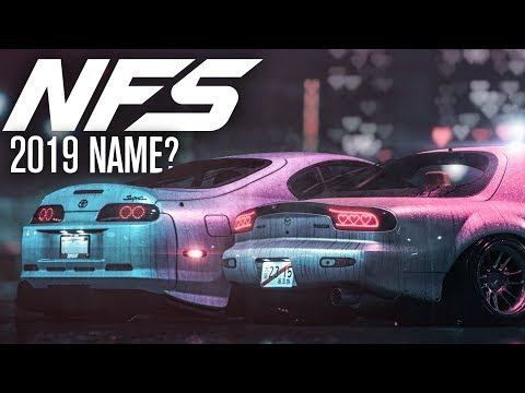 Need for Speed 2019 - What's the Name?!
