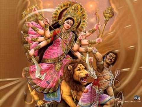 Mahishasurmardini Stotra {Bhagwati Pushpanjali Stotra}