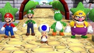 Mario Party 9 - Garden Battle