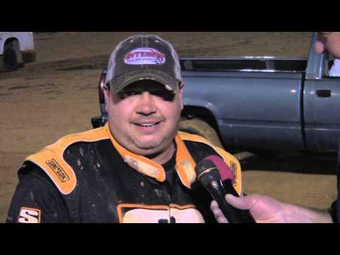 Trail-Way Speedway 358 Sprint Car Victory Lane 8-23-13