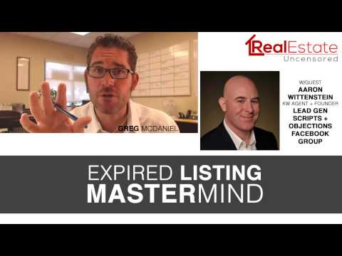 Real Estate Prospecting: Expired Listing Mastermind Real Estate: Uncensored 010