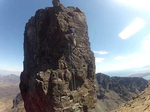 Climbing the Inaccessible Pinnacle - Isle of Skye 2013