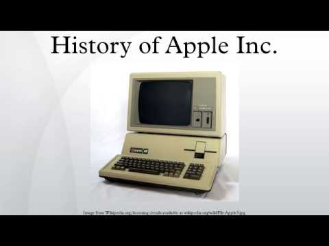History of Apple Inc.