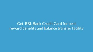 RBL Credit Card: Apply Online for Best RBL Bank Credit Cards