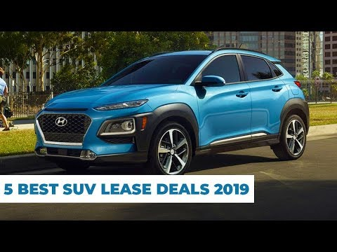 5 Best SUV Lease Deals 2019 – Affordable & Reliable !