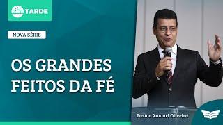 Bem Vindo ao Culto da Tarde | Rev. Amauri de Oliveira - 2 Timóteo 3: 14-17