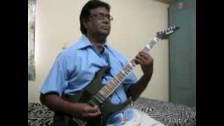 ab tere bin jeelenge hum on guitar by Vijayaraj.avi