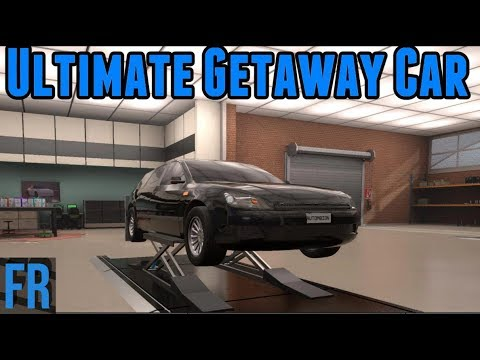 Automation Challenge - Ultimate Getaway Car