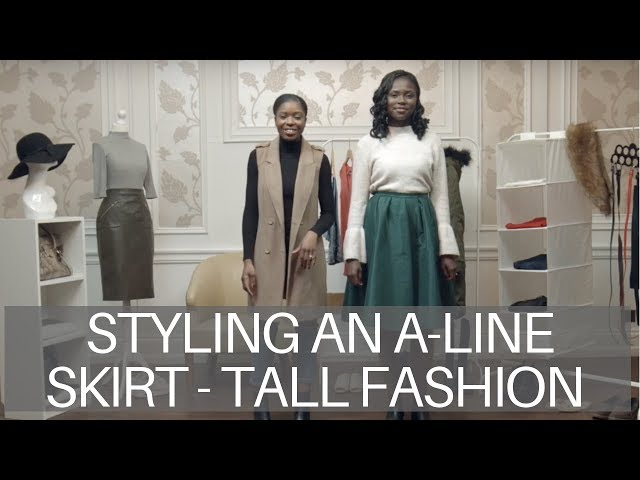 Styling an A-Line Skirt and Jumper | Tall Fashion | Modest Fashion