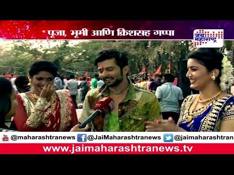E3: Fun masti on the set of Vrundavan upcoming marathi movie