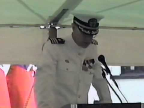 MIUWU 111 Change of Command Ceremony