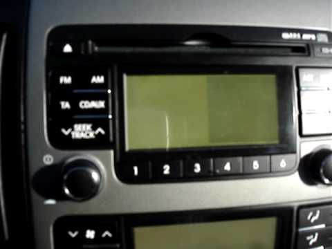 hyundai i30 radio poblem mpg youtube. Black Bedroom Furniture Sets. Home Design Ideas