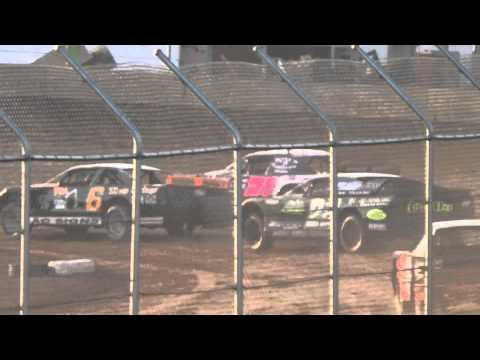 Plymouth Dirt Track Grand National Heat 1 Finish May 2 2015