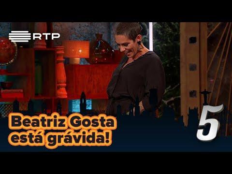 Beatriz Gosta está grávida!   5 Para a Meia-Noite   RTP
