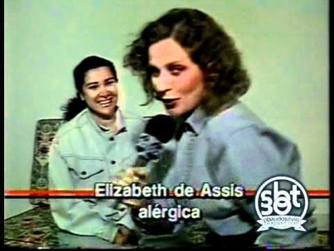 Aqui Agora - professora Helena e alergias bizarras (1991)