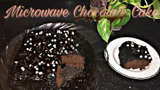 Microwave Chocolate Cake | by Farah