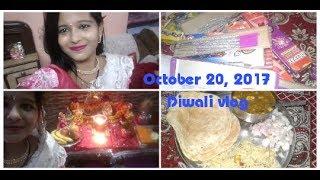 Diwali vlog 2017  Rangoli, lighting, food,fun  festival of lights  RobiNeetu