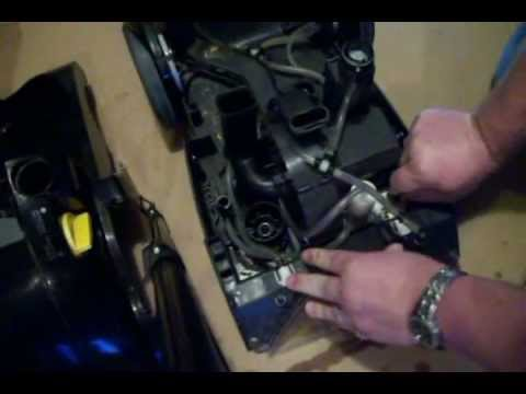 Bissell Pro Heat Carpet Cleaner Pump Replacement  YouTube