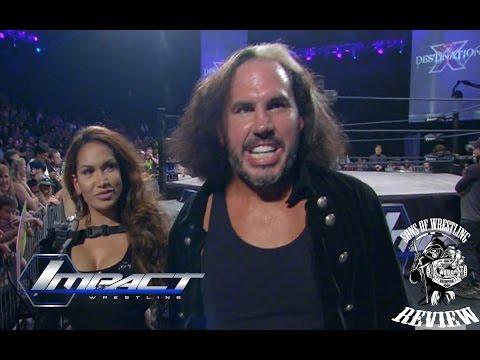 TNA Destination X 7/12/16 BROKEN Matt...