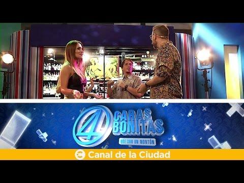 """<h3 class=""""list-group-item-title"""">4 Caras Bonitas: En el boliche con Coty Alvarez y Valeria Degenaro - Las joyas del humor</h3>"""