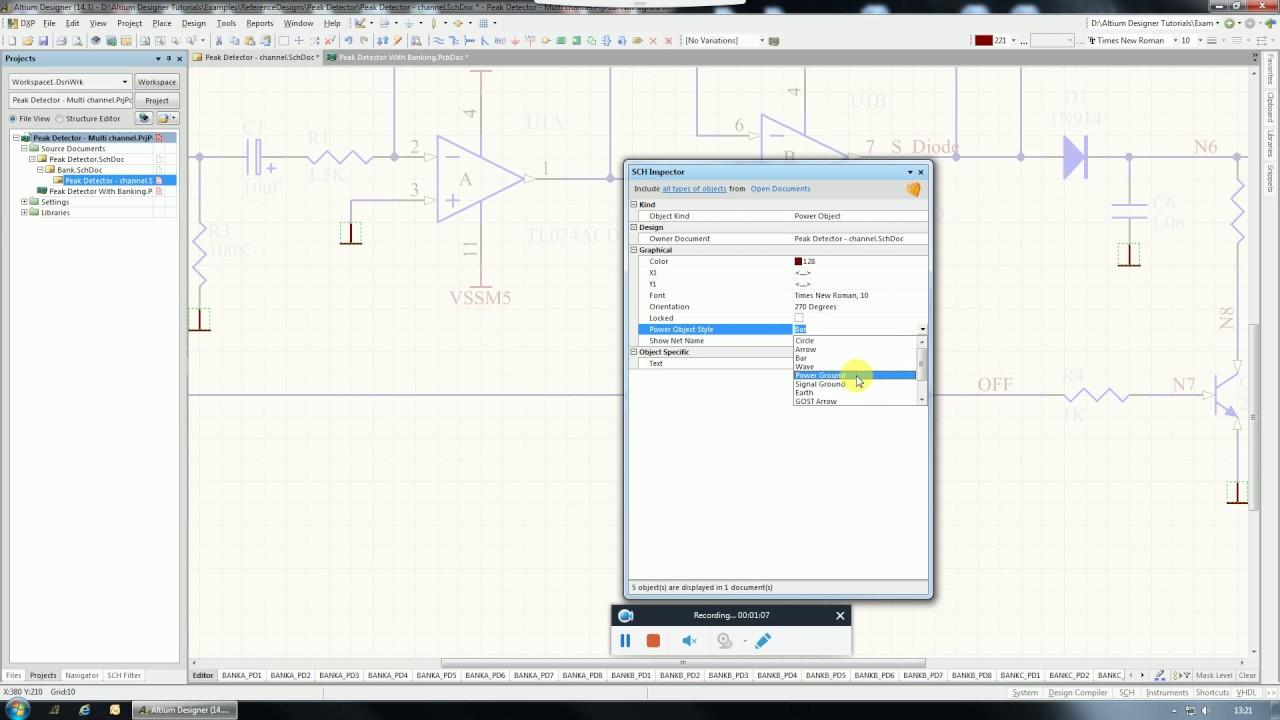 Altium designer tutorial change all power ports once in schematic altium designer tutorial change all power ports once in schematic ccuart Choice Image