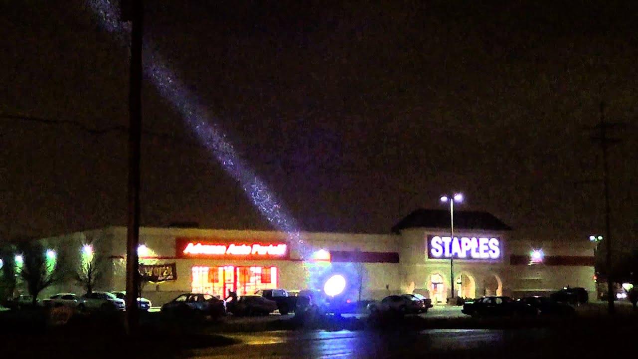 "Skybeam Searchlights 60"" Carbon Arc Light. 800 Million ..."