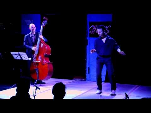 âtman - tap dance show with live jazz music: piano, double bass, voicing
