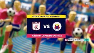 América vs Pasto - Mejores jugadas  - Fecha 10 Liga Aguila II 2018