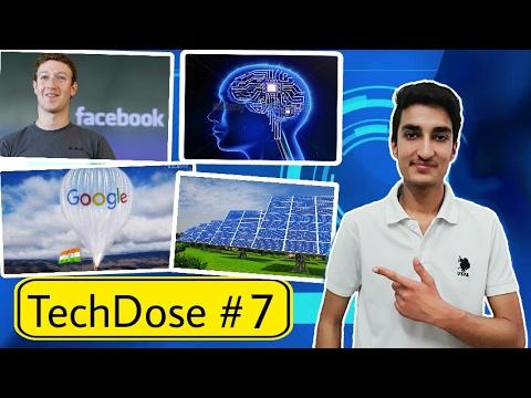 TechDose#7 - Jobs in Facebook ! 1.5 Billion Sim Users, Brain Maping, Google Project Loon..... thumbnail