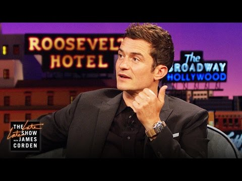 Orlando Bloom's Workout Secret: Drowning w/ Dumbbells