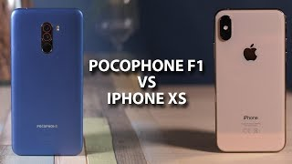 Pocophone F1 против iPhone Xs — самый дешевый против самого дорогого флагмана!