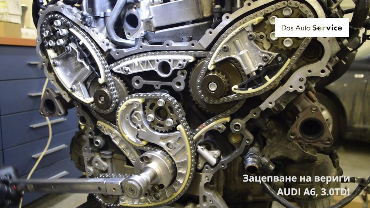 Смяна на вериги на Audi A6, 3 0TDI