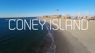 Coney Island in 4K (Phantom2 Aerial GoPro Hero4)